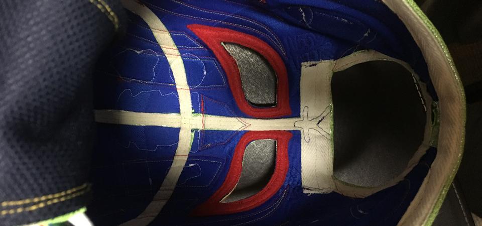 マスクの内側