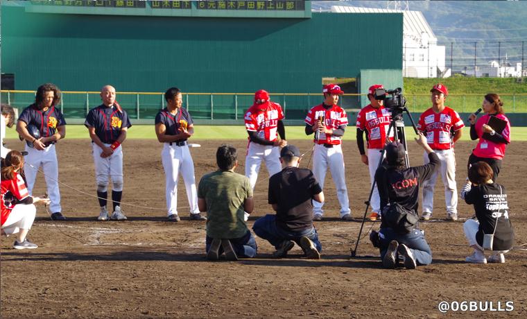 この試合はJ:COM東大阪局さんのデイリーニュースで2日間、GAORA通信さんでも2日間放送されました