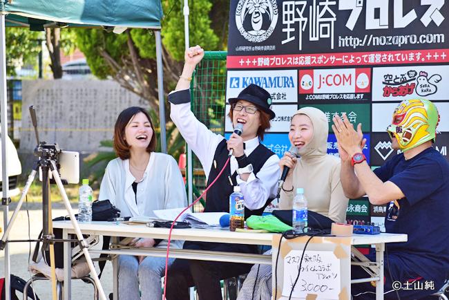 野嵜プロレス今年もちゃきちゃんと共演^^