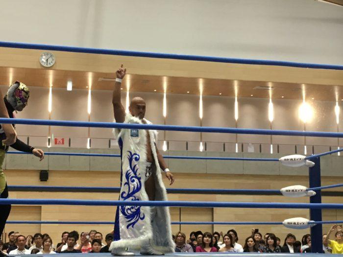 全日本プロレス門真大会を観戦してきました