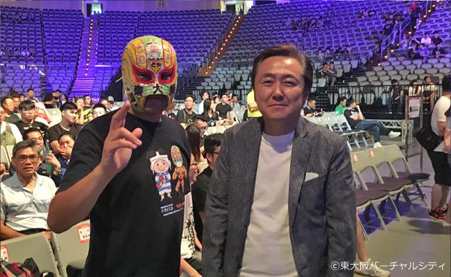 新日本プロレスの菅林会長と