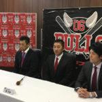 06BULLSに元阪神の坂選手が入団するという記者会見があったようで