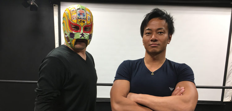 東大阪出身のドラゴンゲート吉野正人選手と!