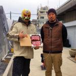 川浦農園さんで朝採りイチゴ