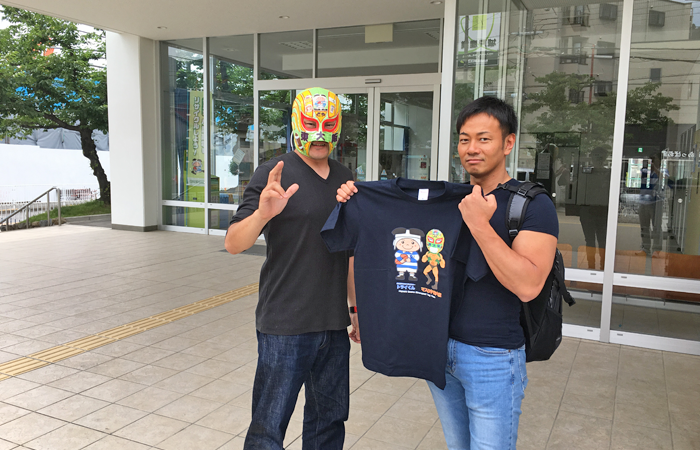ドラゲー吉野正人選手と東大阪で